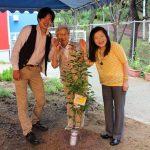 茶山台幼稚園植樹祭