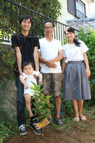 泉北レモンの植樹#N4