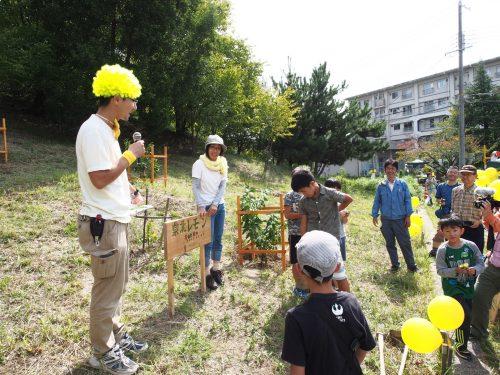 170930泉北レモン植樹祭@公社茶山台団地