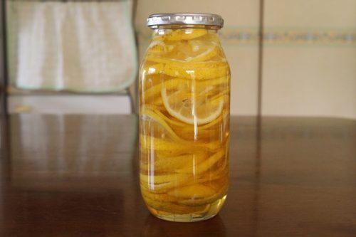 レモンのハチミツ漬け
