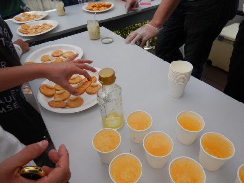 スマエコタウン晴美台レモン植樹祭